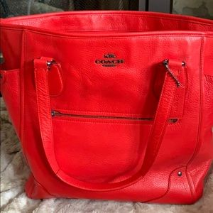 Large Coach handbag
